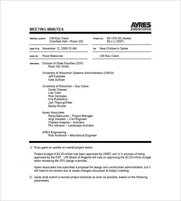 Meeting Format Template free meeting agenda templates smartsheet – Meeting Format Template