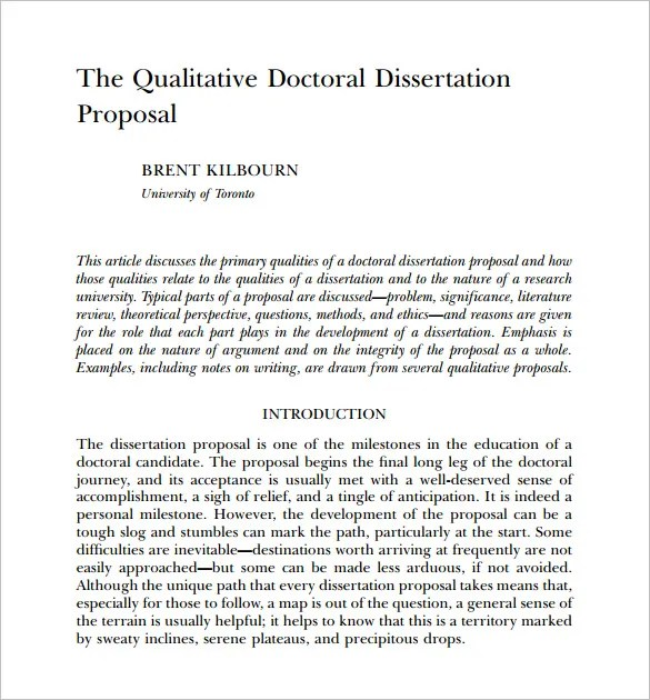 dissertation proposals education How do you write a proposal for a dissertation download examples of successful proposals.
