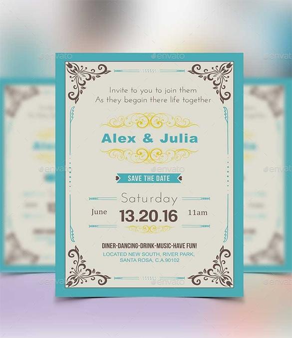 Wedding Invitations Free Sample