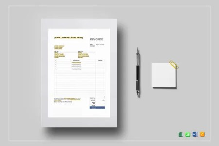 Tax Invoice Templates   16  Free Word  Excel  PDF Format Download     Sales Tax Invoice Template