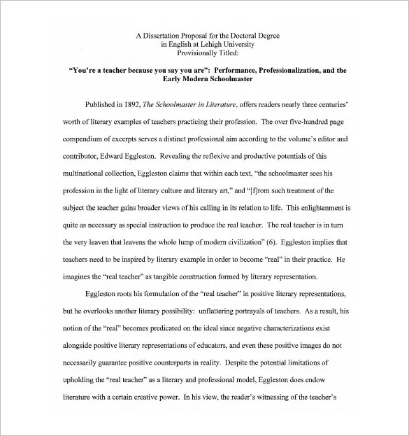 dissertation template apa