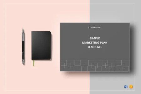 21  Event Marketing Plan Templates   DOC  Excel  PDF   Free     simple marketing plan template