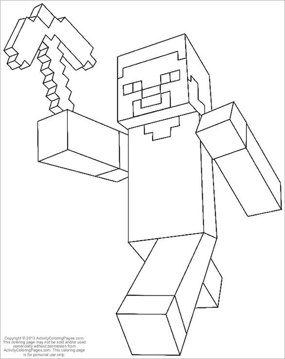 minecraft color page # 77
