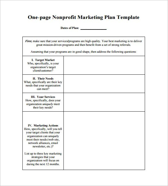 marketing action plan template 9 free sample example format 15 – Example of Action Plan Template