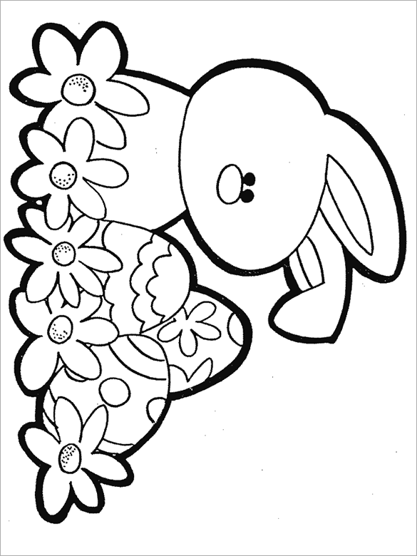 21+ Easter Coloring Pages - Free Printable Word, PDF, PNG ... | coloring sheets easter printables