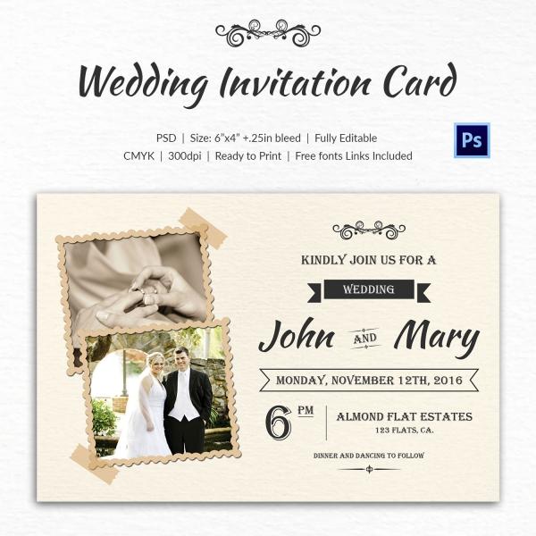 Invitation Indesign Template 71 Free Printable