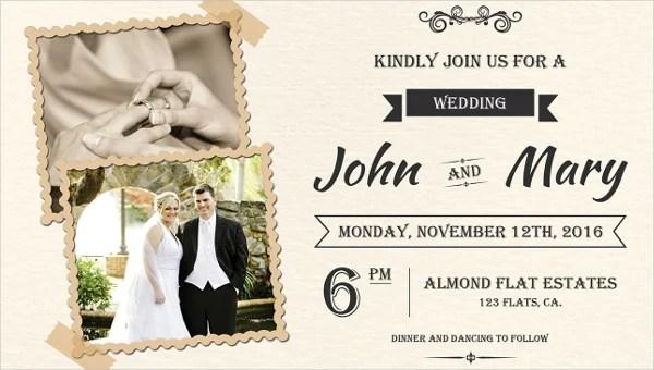 85 Wedding Invitation Templates Psd Ai Free Premium