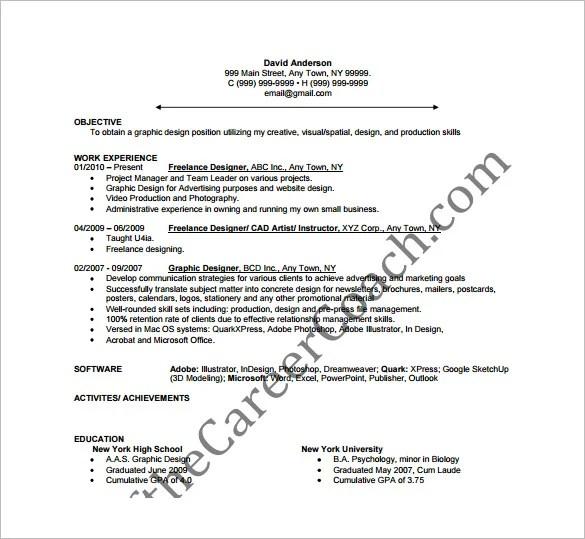 designer resume template 9 free word excel pdf format downlaod