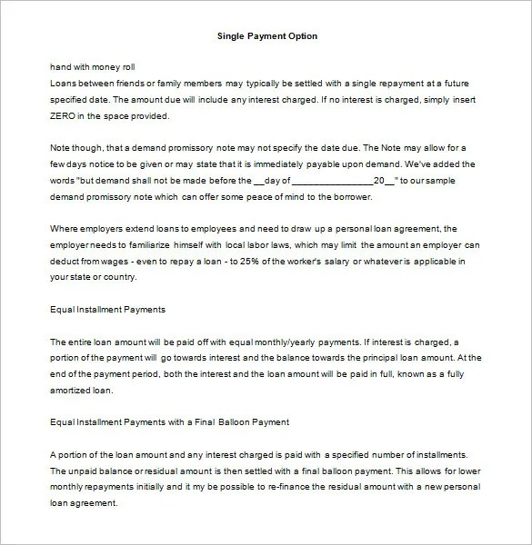 free contract templates word pdf agreements best photos of – Promise to Pay Template