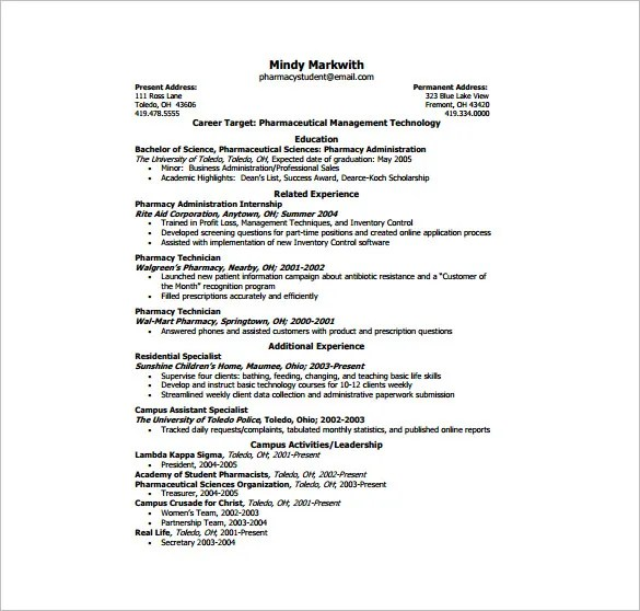 one page resume template resume sample - Single Page Biodata Format