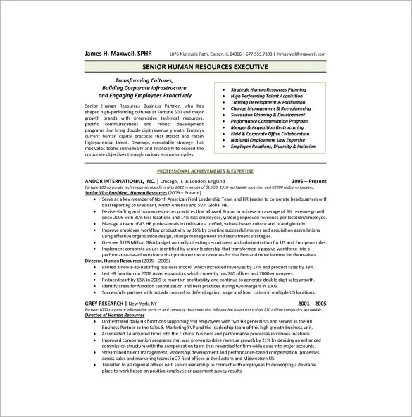 One Page Or 2 Page Resume. Resume Page Sample One Page Resume