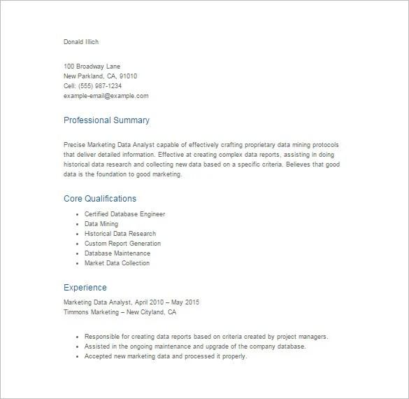 best pdf template lightweight resumes dark blue
