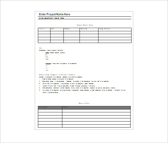 project plan template microsoft word