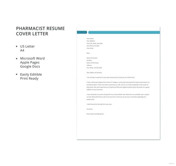 Cover Letter Template Harvard Black White