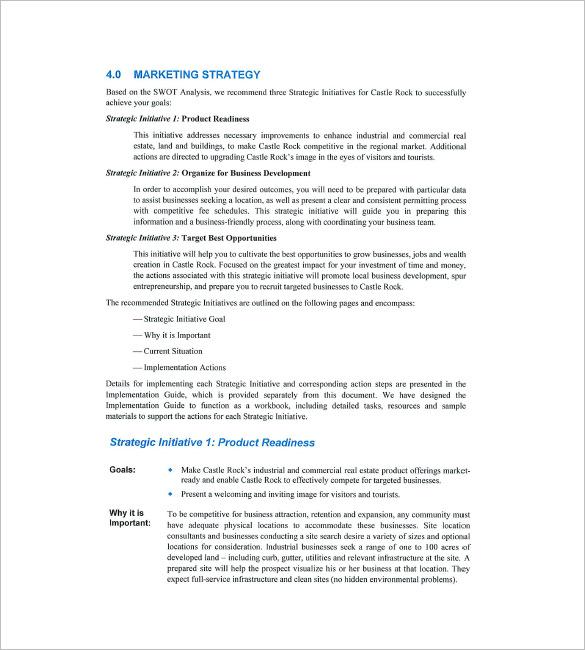 16 Real Estate Marketing Plan Free Sample Example