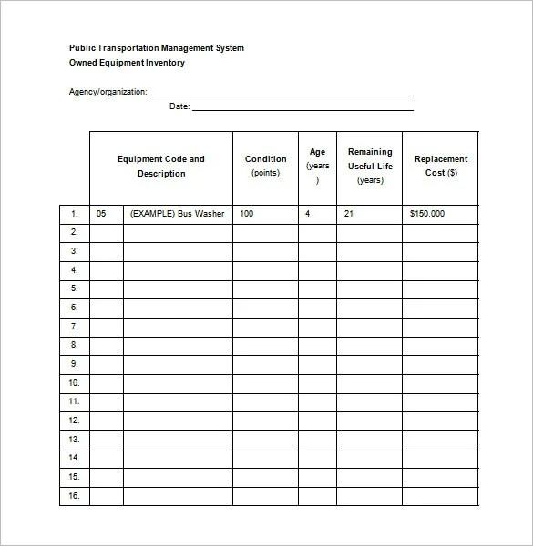 Maintenance Schedule Template 37 Free Word Excel Pdf