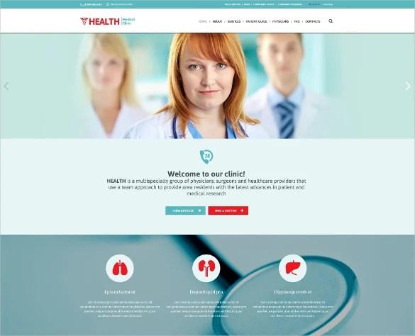 19 Health Website Themes Templates Free Premium Templates