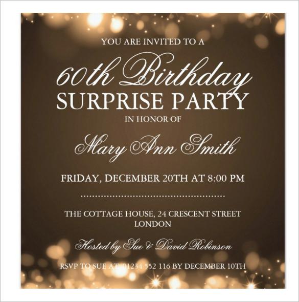 Surprise Bday Invite Wording 47 Birthday Invitation Templates Psd Ai Word Free Premium
