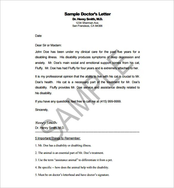 Recommendation letter format doctor cover letter sample doctor letter template 13 free sample example format spiritdancerdesigns Gallery