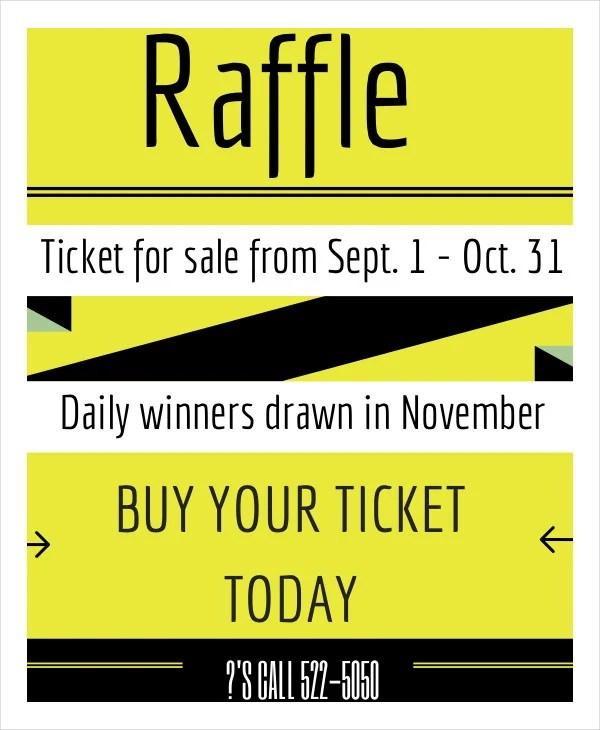 sample raffle ticket template 20 pdf psd illustration word eps 40 – Ticket Template Publisher