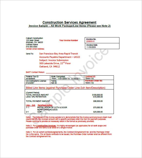german invoice template word – neverage, Invoice templates