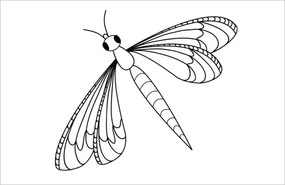 18 dragonfly templates crafts amp colouring pages free amp premium