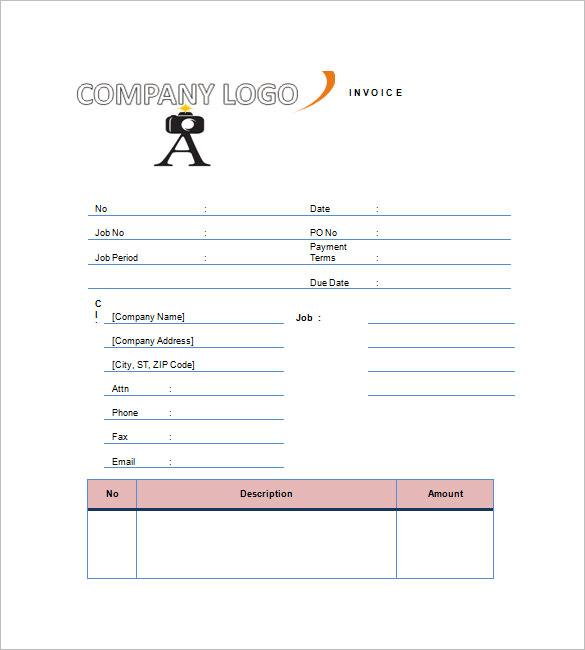angularjs simple invoice – notators, Invoice examples