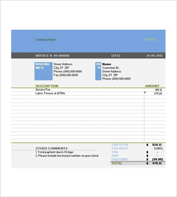 invoice template docx. free construction invoice template docx pdf, Invoice templates