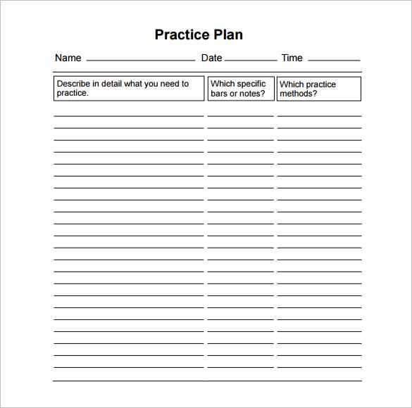 11 Practice Schedule Templates DOC PDF Free Amp Premium Templates
