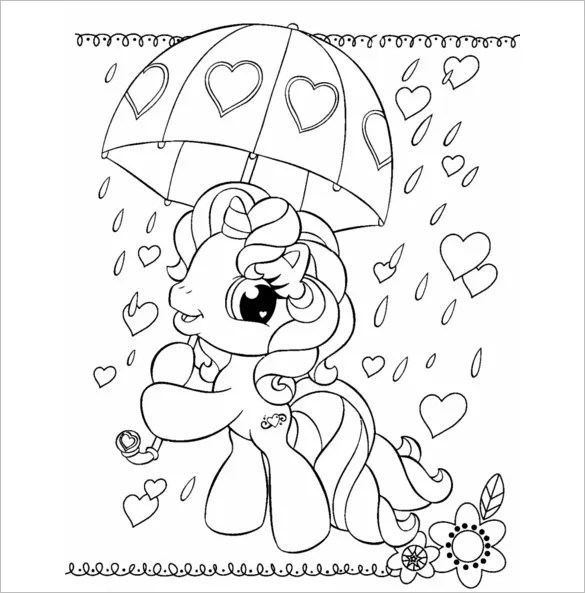 17 My Little Pony Coloring Pages Pdf Jpeg Png Free Premium Templates