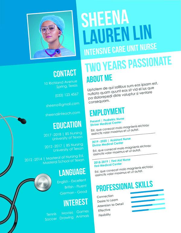 Nursing Student Resume Example 11 Free Word Pdf