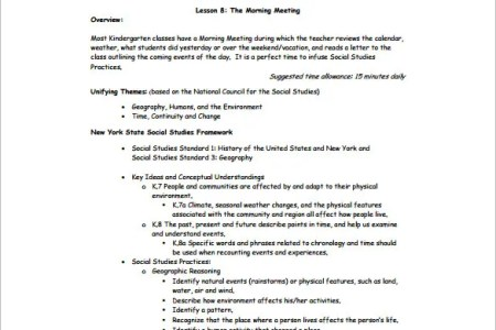 Financial Business Plan Template Excel Danielson Lesson Plan - New york state lesson plan template