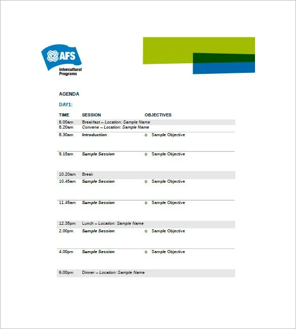 Free Download Cv Format Sample Business Meeting Agenda Format   Download  Free Professionally Templates In Ms Word, Ms Office, Google Docs And Other  Formats.