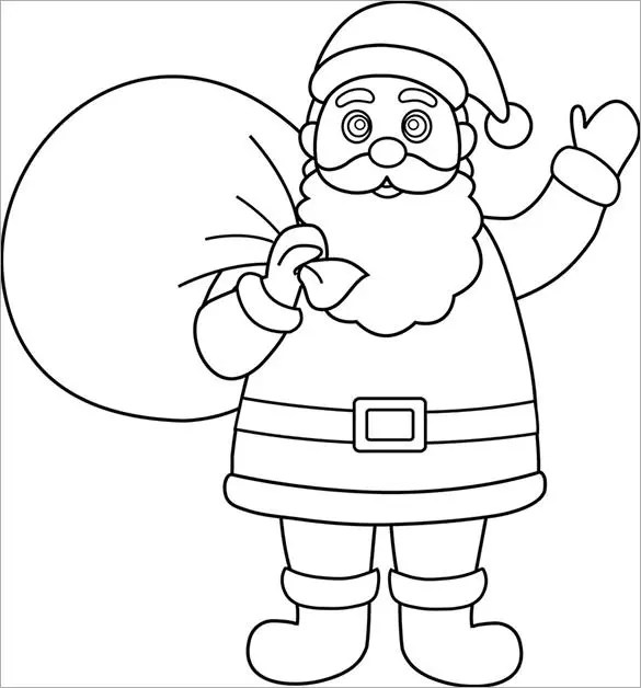 31 christmas colouring pages free jpeg png eps format download