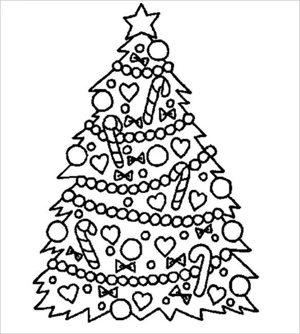 32 Christmas Tree Templates Free Printable Psd Eps Png