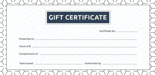 30 Blank Gift Certificate Templates Doc Pdf Free