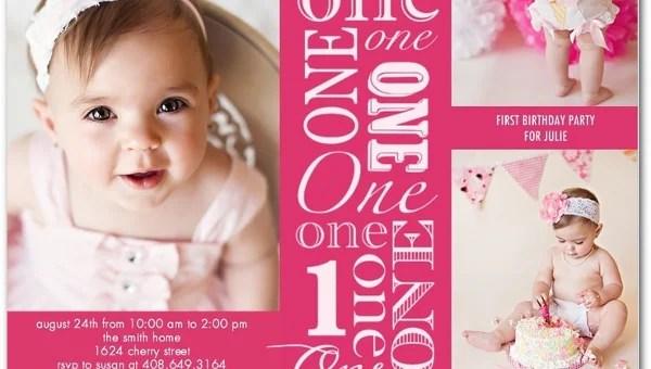 36 first birthday invitations psd