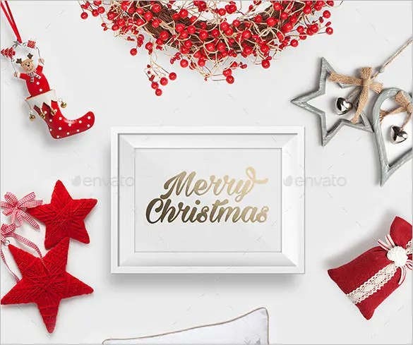32 Christmas Photo Templates Free PSD AI Illustraion