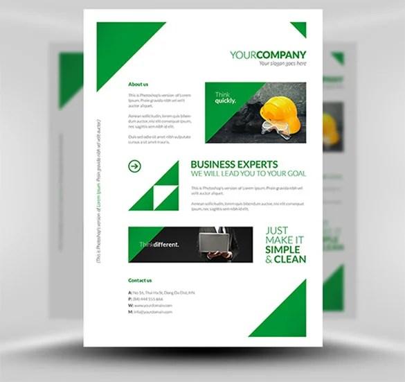 14 A4 Poster Templates PSD EPS AI InDesign Free Premium Templates