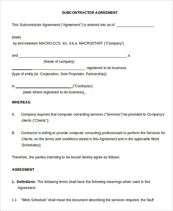Non Compete Agreement Template 12 Free Word Pdf Format