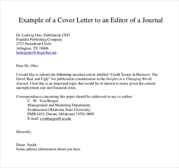 assistant publisher cover letter