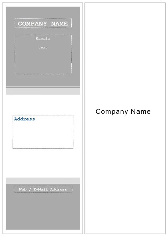 Bookmark Template Publisher. the funeral program site releases new ...
