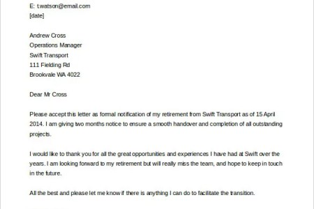 Retirement resignation letter to employer free professional resume retirement letter templates pdf doc free premium templates free retirement letter to employer retirement letters to employers ideas of sample of a thecheapjerseys Images