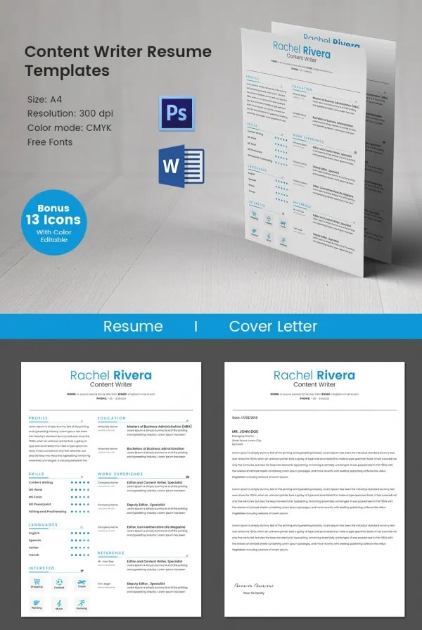 resume templates 127 free samples examples amp format download