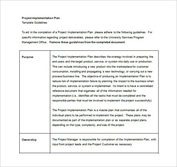 Project Plan Word Template project plan template microsoft word – Word Project Plan Template