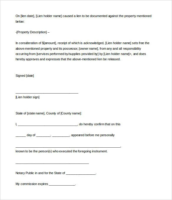 Notarized Statement Template. of income letter income letter ...