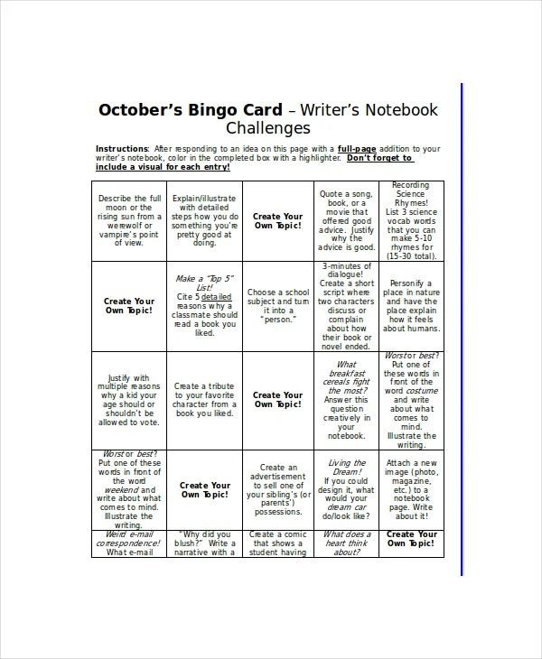 Word Bingo Template 12 Free Word Documents Download Free Premium Templates