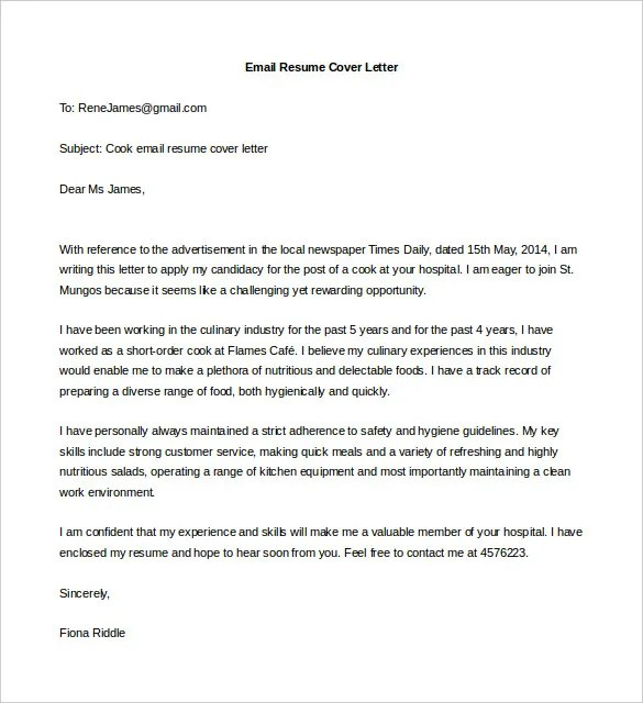 Cover Letter For Job Application With Experience Pdf | Docoments ...