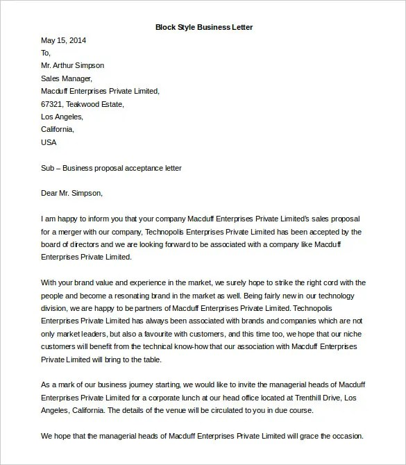 style cover business letter letter a