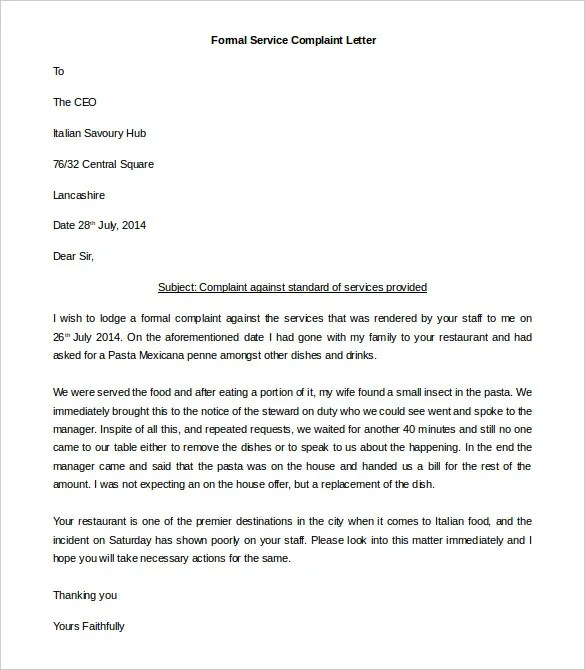 formal letter template apology best collection resume and letters – Apology Letter to Family